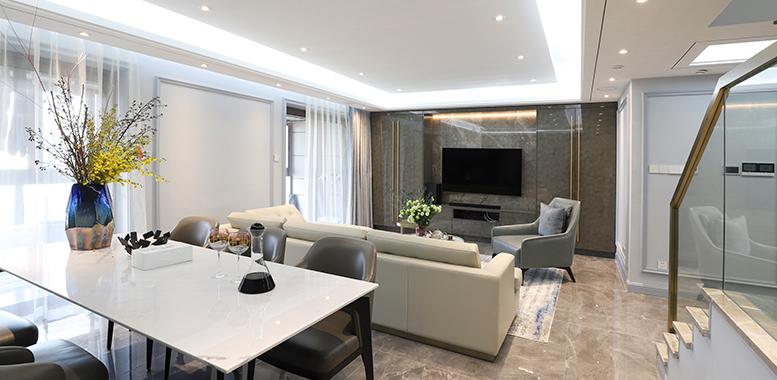 别墅装修设计——轻奢风格装修特点