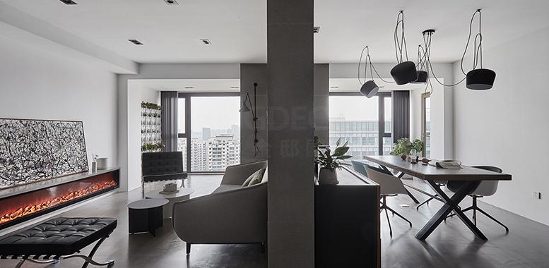 别墅装修设计之——空间的创意分割