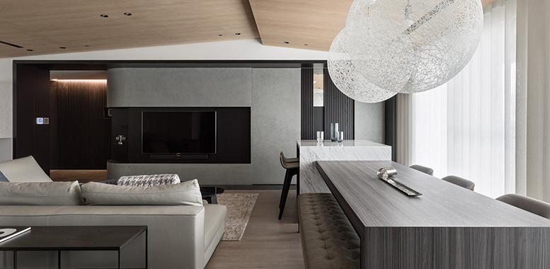 别墅装修设计之——现代简约风格厨房装修特点