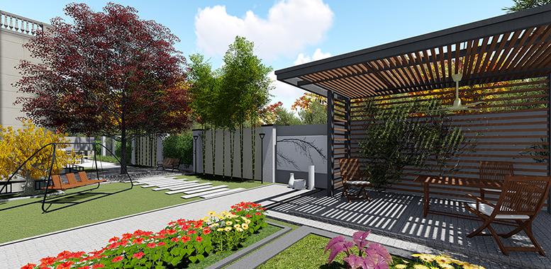 别墅装修设计之——庭院景观设计