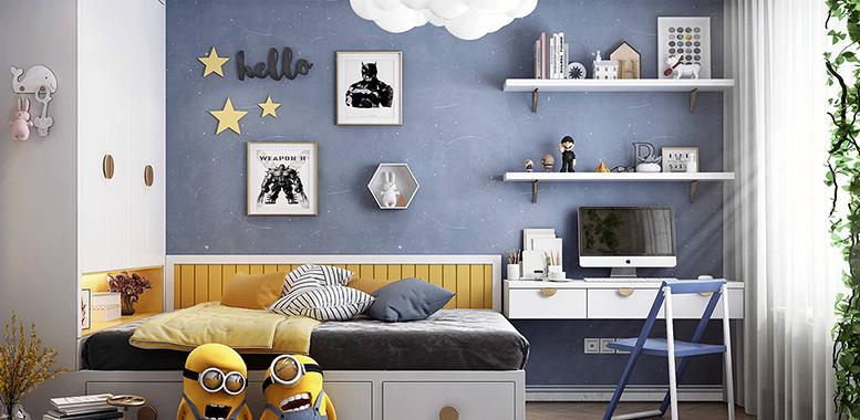 别墅装修设计之——儿童房装修设计原则