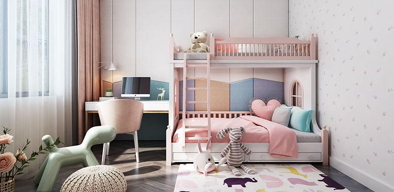 别墅装修设计之——儿童房的设计要点