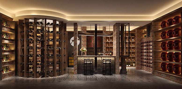 别墅装修设计之——酒窖的设计要点
