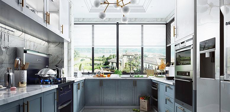 杭州别墅装修设计——厨房装修注意事项