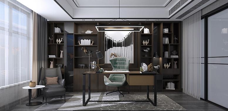 杭州别墅装修中的书房装修注意事项有哪些?