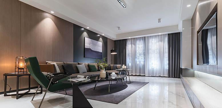 杭州别墅装修设计之客厅灯具选择与布置