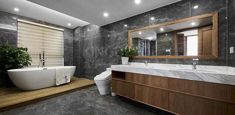 浴室装修设计中,主要风格材料怎么选?杭州别墅装修