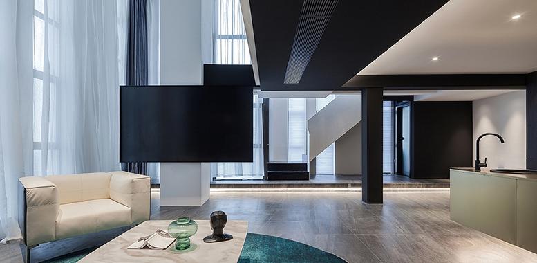现代风格杭州别墅装修的高级质感是如何体现的?