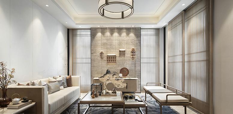 端庄优雅的中式风格杭州别墅装修,体会不一样的生活