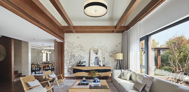 北欧风格杭州别墅装修,打造自然舒适的家居空间!