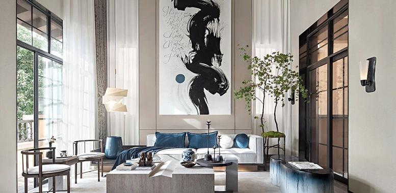 自然风格杭州别墅装修,打造清静雅致的生活空间
