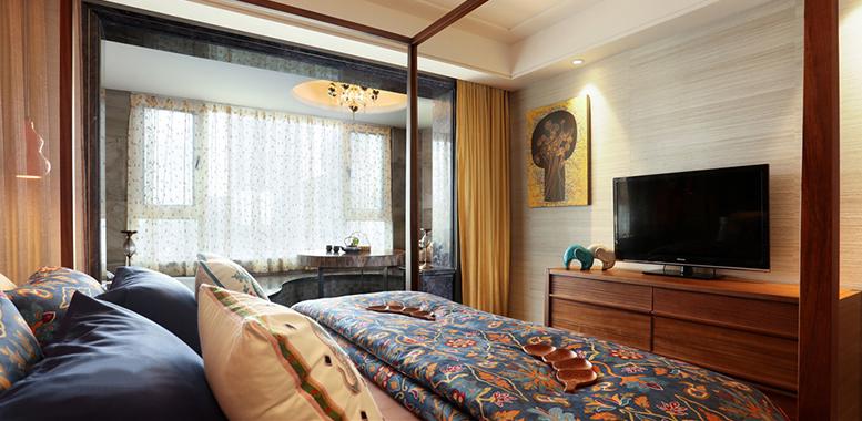 东南亚风格杭州别墅装修,打造质朴安然的静谧空间