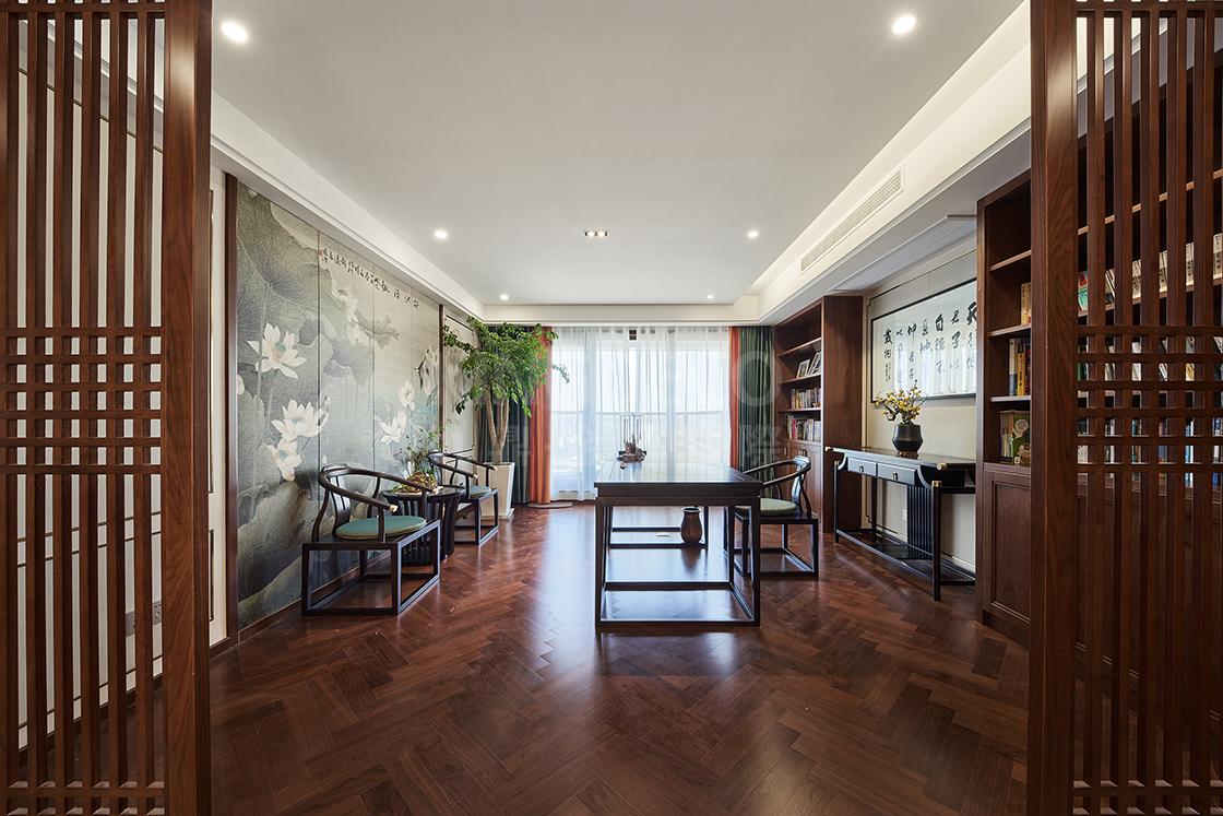 杭州别墅空间里的中式书房设计,特别在哪里?