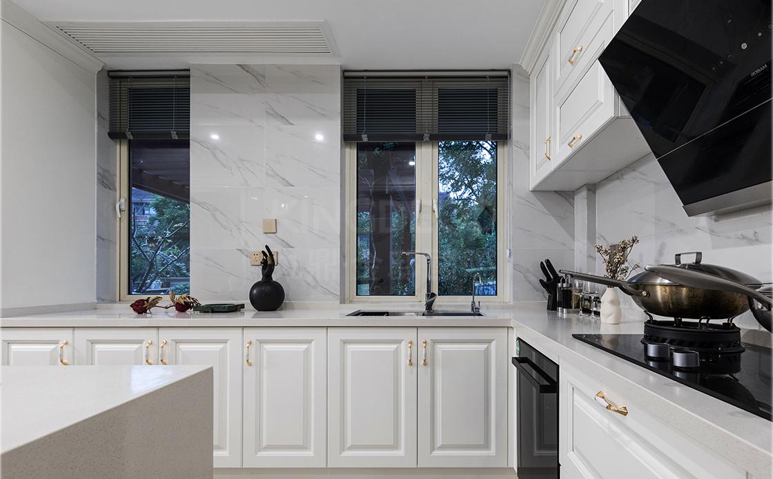 开放式厨房设计,打造不一样的别墅空间